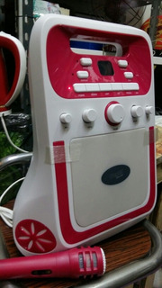 Sistema De Parlante Karaoke Usb Cd Bluetooth Luz