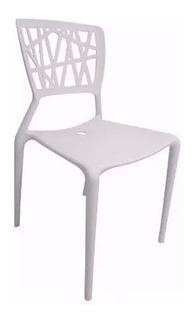 Silla De Diseño Amelie Plastico Moderna Elegante