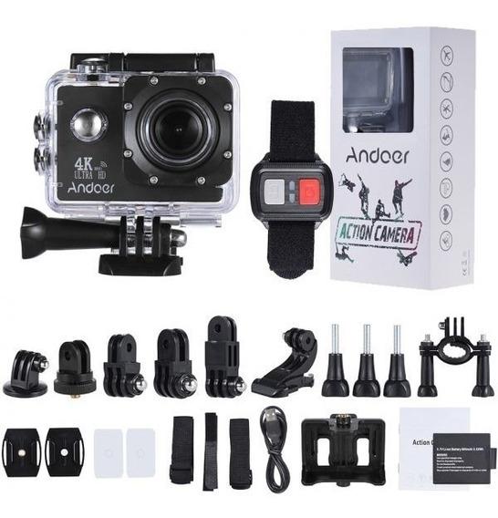 Envio Em 24h! Andoer An4000 4 K 16mp Câmera De Ação 1080p