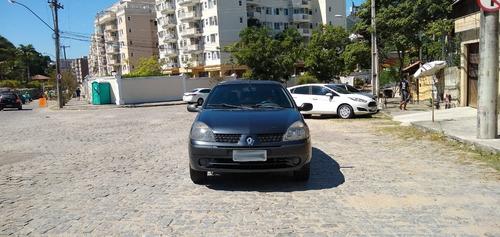 Imagem 1 de 13 de Clio Sedan Expression 1.6 Flex/gnv - Completo