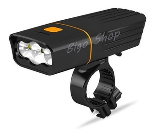 Super Lanterna Farol Bike Tk3 Leds Ml-2 T6 2400 Lumes 130,gr