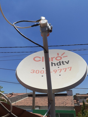 Instalação E Manutenção De Antenas E Receptores Em Geral.
