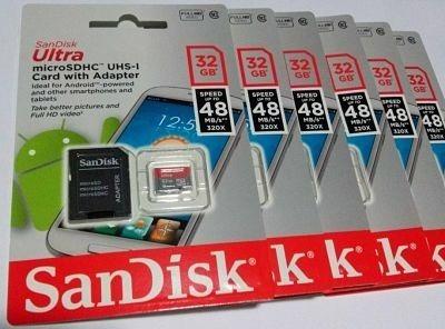 Cartão Memória 32gb Micro Sd 98mbs Classe 10 Frete Gratis 01