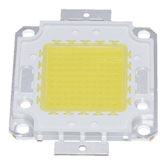 Chip Led 100w Cob Smd Blanco Frio Repuesto Reflector