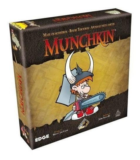 Jogo Munchkin + 170 Shields Novo Em Português