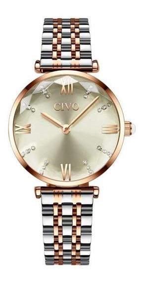 Relógio Feminino Civo 8095c