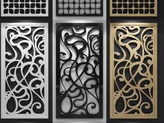 Vector Panel Celosía Decorativo Interiores Y Exteriores C08