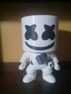 Figura Muñeco Marshmellow Fortnite