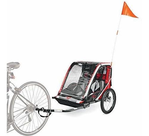 Imagen 1 de 5 de Remolque De Bicicleta Allen Sports Ast202, Para 2 Niños,