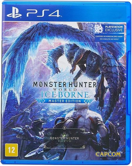 Monster Hunter World Iceborne Master Edition Ps4 Novo