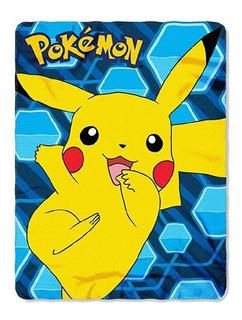 Cobijia Manta De Pikachu Pokemon Original Nintendo