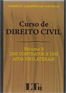 Curso De Direito Civil Volume 3 1ª Edição (2008)