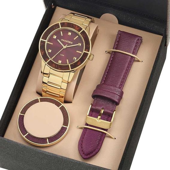 Relógio De Pulso Feminino Mondaine 99265lpmvde1