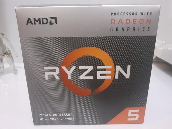 Processador Ryzen 5 3400g Novo Na Caixa!!