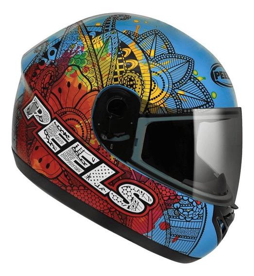 Capacete para moto integral Peels Spike Indie azul M