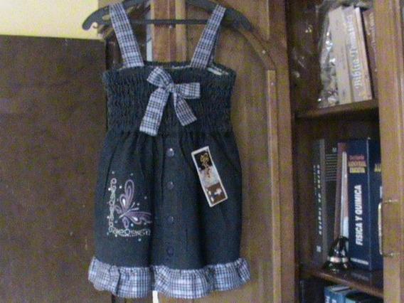 Vestido De Mezclilla Para Niña T 9