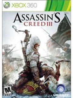 Assassins Creed 3 Videojuego Para Xbox 360