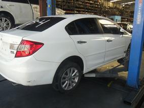 Sucata Civic Lxr 2.0 Flex 16v Aut 14 Para Retirada De Peças
