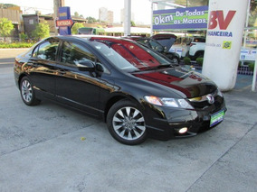 Civic 1.8 Flex Lxl Mt 2010 Preto