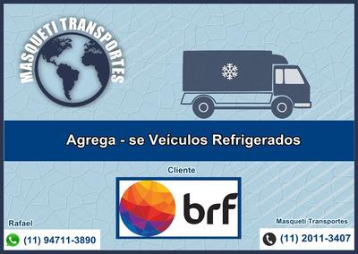 Agrega - Se Veículo Refrigerado 3/4 Toco Truck Refrigerado