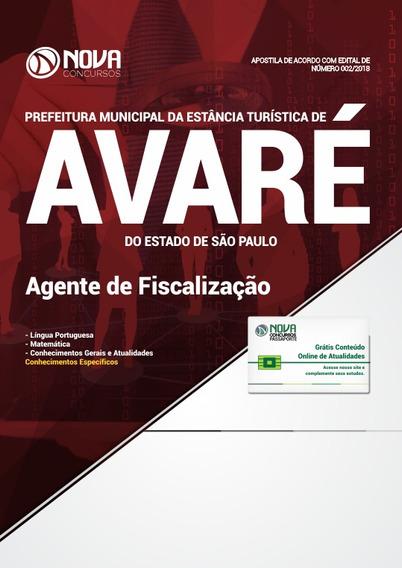 Prefeitura De Avaré - Sp Agente De Fiscalização