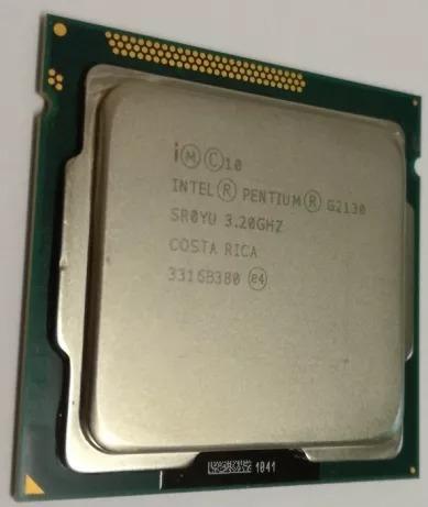 Processador Skt 1155 Dual Core G2130 3,2 Ghz Oem + Gd220
