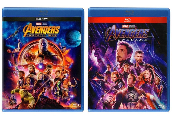 Avengers Infinity War + Endgame Paquete Peliculas Blu-ray
