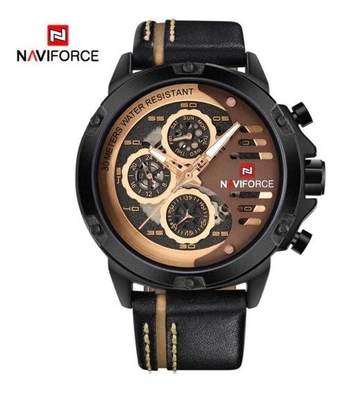 Relogio Naviforce Sport Casual Militar Modelo Nf9110bybn P/m