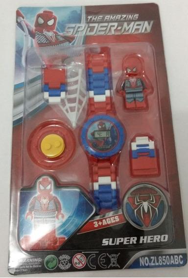 Brinquedo Infantil Presente Relogio Digital Homem Aranha P/e