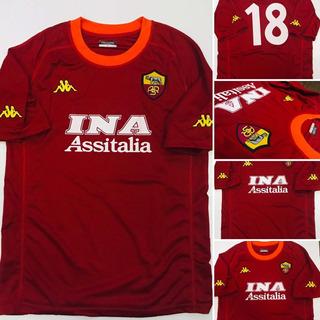 Camiseta Retro Roma Batistuta Adultos