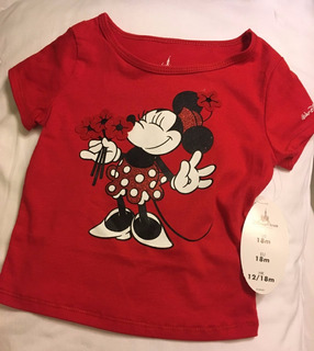 Remera Minnie Disney Original Store Talles 9-12 18- 24 Meses