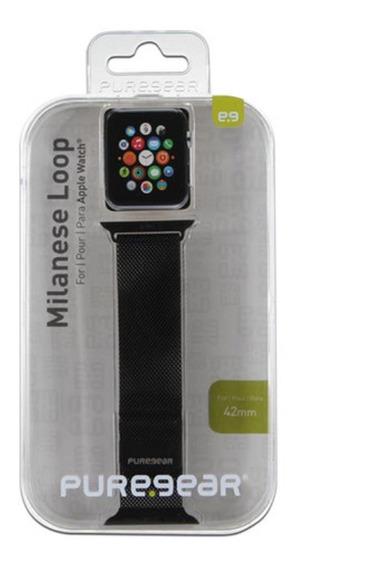 Banda Puregear De 42mm Para Apple Watch. Color Negro.