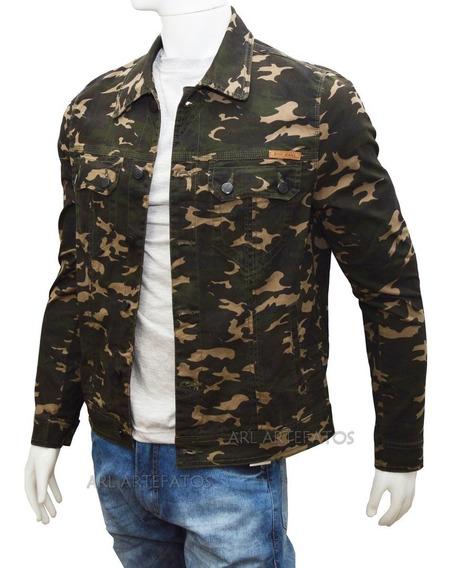 Jaqueta Jeans Masculino Todos Tamanhos Alto Padrão 6 Bolsos