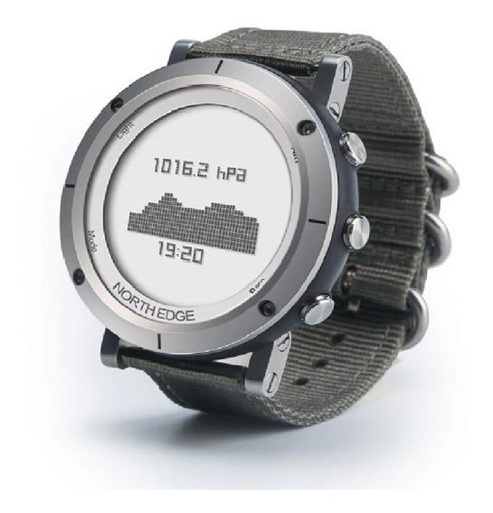 Relógio North Edge Original Bússola Altímetro Barômetro Top