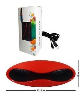 Bocina Bluetooth Mini Ovalada Recargable Manos Libres Micro