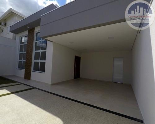 Casa Ótimo Bairro Em Indaiatuba Com 3 Dormitorios Sendo 1 Suite - Ca00030 - 67633880