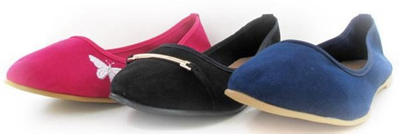 Zapatos Valerina Dama Al 3x1 Mundo Terra 004576