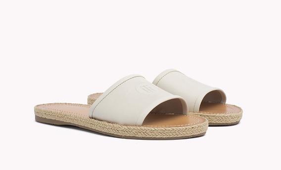 Sandalia Chatita Tommy Hilfiger Zapato Crema 9 Usa Original