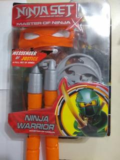 Set De Armas Tortugas Ninja Donatello Rapha Mike Y Leo Envio