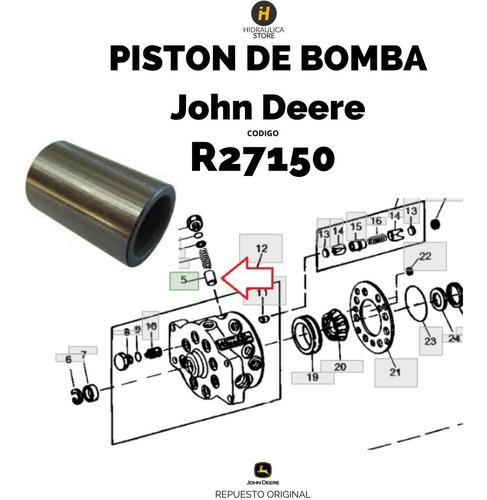 Imagen 1 de 5 de R27150 Pistón De Bomba John Deere