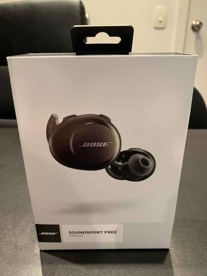 Fone De Ouvido Bose Bluetooth Soundsport Free Black
