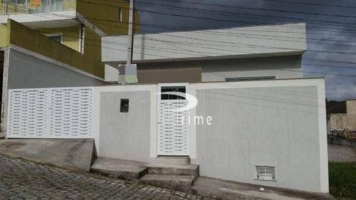Casa Com 3 Dormitórios À Venda, 107 M² Por R$ 330.000,00 - Arsenal - São Gonçalo/rj - Ca0856