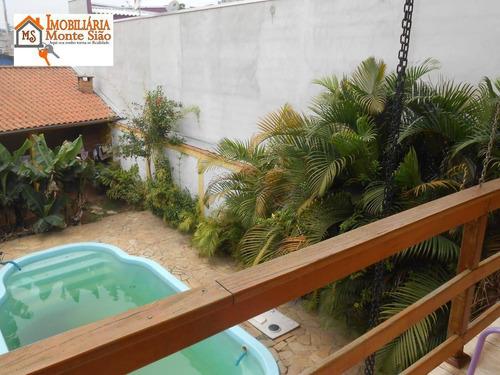 Sobrado Com 4 Dormitórios À Venda, 400 M² Por R$ 750.000,00 - Jardim São Manoel - Guarulhos/sp - So0470
