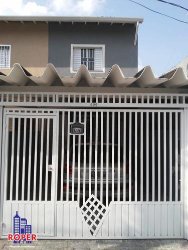 Imagem 1 de 24 de Excelente Sobrado Com 110 M²/3 Dormitórios/1 Vaga E Porão Grande À Venda Na Vila Talarico, São Paulo - Ca00270 - 69355557