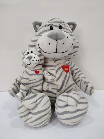 Coleção Pelúcia Mãe E Filho Da Nestlé 2013 - Tigrinha