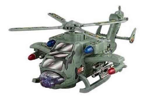 Helicóptero Transformable En Robot Luz Y Sonido Ref. 328