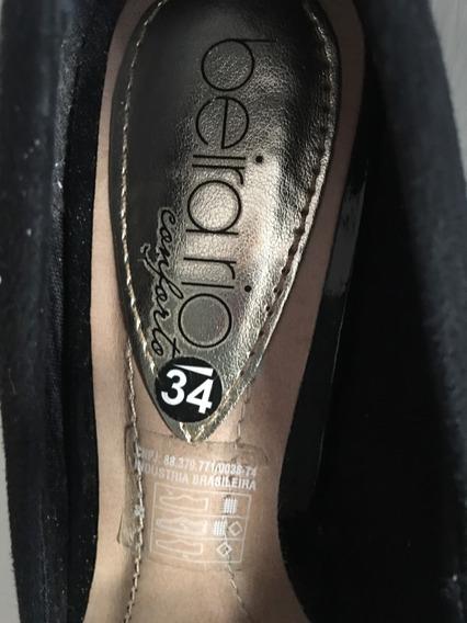 Sapato Scarpin Beirario Número 34
