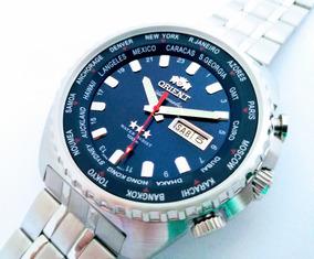 Relógio Orient Automático Gmt 469ss057 Original Nf Garantia