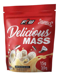 Hipercalórico Delicious Mass 3kg - Ftw - Massa Muscular