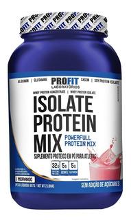 Whey Protein Isolado Profit - Isolate Protein Mix - Sabores